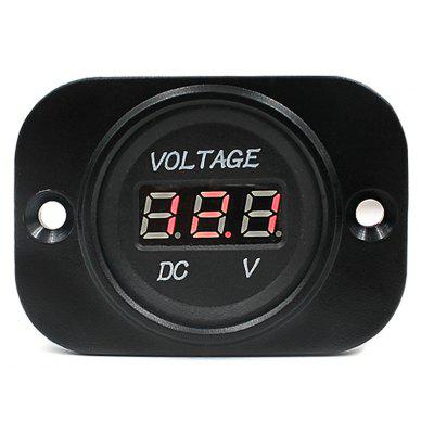 CS - 156 DC 12 - 24V Car Motorcycle LED Digital Voltmeter