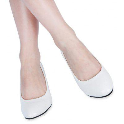 Spring Elegant Shallow Mouth Low Heel Sandals for Women
