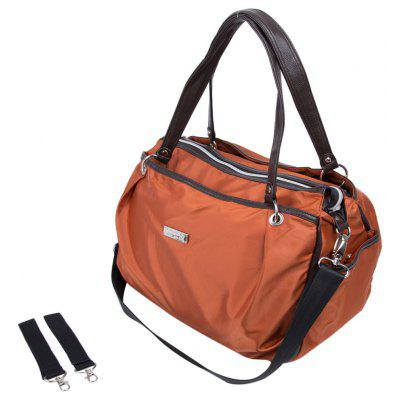 Multifunctional Solid Color Waterproof Nappy Changing Tote Handbag Mummy Bag