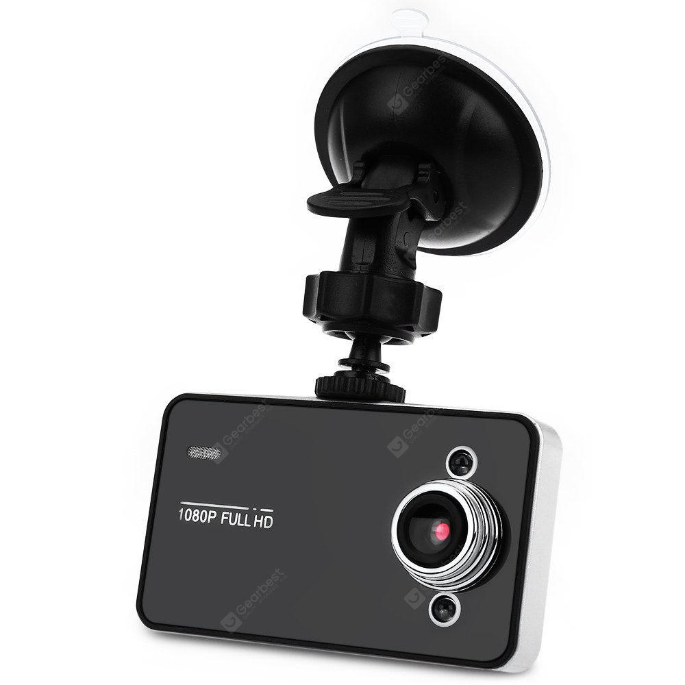 K6000 2.7 Inch 140 Degree Wide Angle Car DVR Recorder