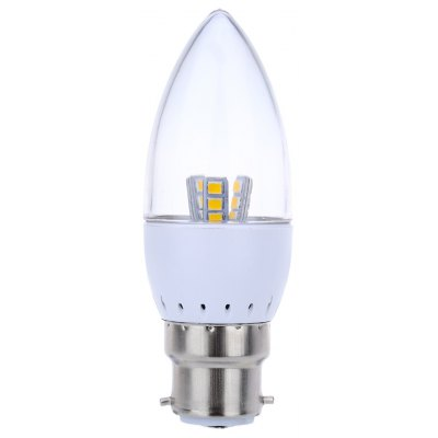 B22 Dimmable 5W SMD 2835 LED Candle Bulb