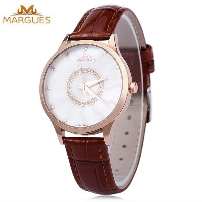 MARGUES M - 3033 Women Fashion Quartz Watch