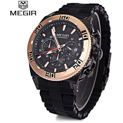 MEGIR M3009 Men Multifunctional Quartz Watch