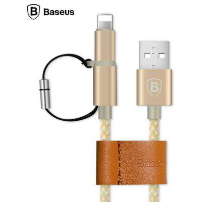 Baseus 1.0M 2 in 1 Data Charge Cable