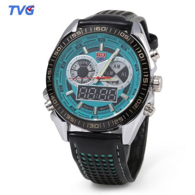 TVG KM - 568 Men Dual Movt Quartz Watch