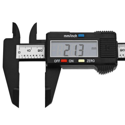 Фото 150mm 6 inch LCD Digital Caliper Carbon Fiber Vernier. Купить в РФ