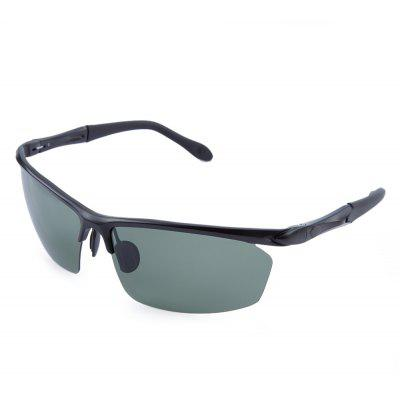 Old Classical Polarized Arc-shaped Sports Sunglasses for Men