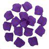 100pcs Silk Rose Petals Wedding Party Decorations - DEEP PURPLE