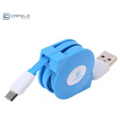 CAFELE Stretchable Charging USB Data Cable for Android Smart Phone