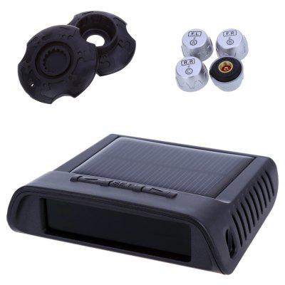 TP - 810 TPMS Car Tire Pressure Monitoring System with LED Display 4 External Sensors