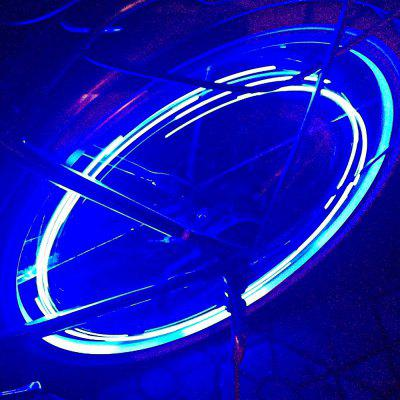 Bike Cycling 20 LEDs 2 Modes Flash Safety Wheel Spoke Light