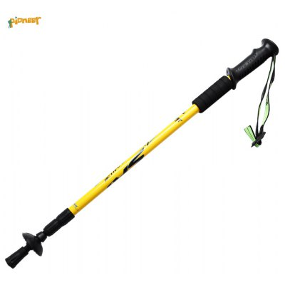 PIONEER Ultralight Crutch Trekking Cane Pole Hiking Mountaineering Sticks