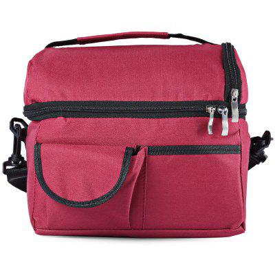 Cloth Double-deck Insulation Cooler Bag