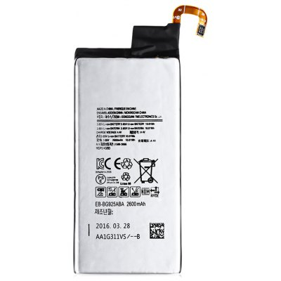 2600mAh Li-ion Battery Fitting for Samsung Galaxy S6 Edge / G9250 / G925F / G925FQ / G925S