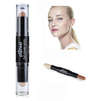 Double Head Natural Full Cover Long Lasting Lmooth Concealer