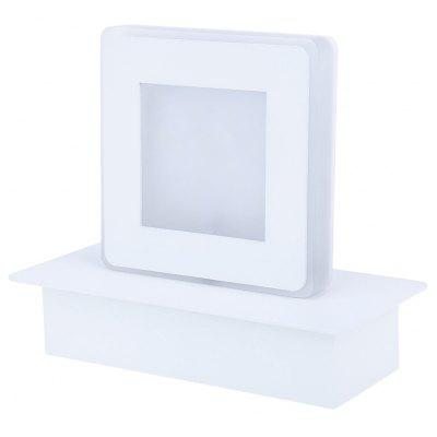 Square 3W LED Mirror Light