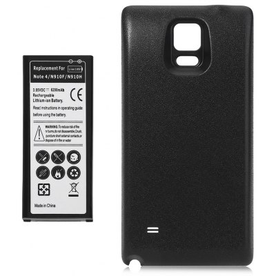 6200mAh Li-ion Battery Back Cover for Samsung Galaxy Note 4