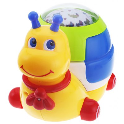 Baby Musical Snail Projector Toy