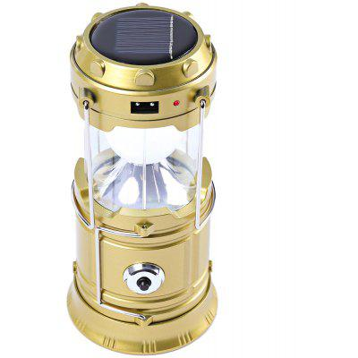 7-LED Super Bright Torch Solar Lamp Lighting Lantern Hiking Equipment