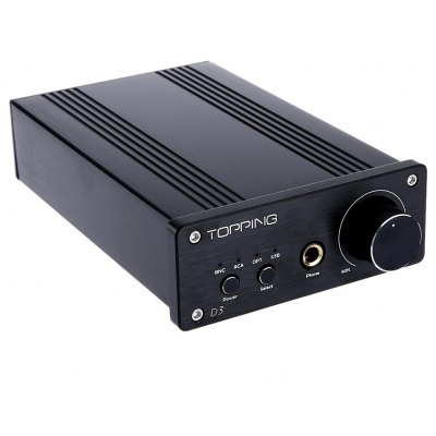TOPPING D3 2 in 1 Multi-function Decoder Headphone Amplifier