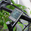 Multifunctional Wireless LCD Backlight Bicycle Computer - SILVER