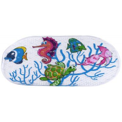Cartoon Anti-slip PVC Suction Cups Bath Mat Rug