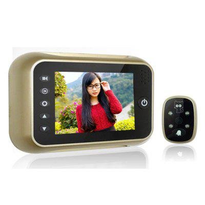 518 3.5 Inch Digital Peephole Viewer Door Bell