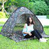 Outdoor Automatic Pop Up Instant Quick Cabana Beach Tent - DIGITAL CAMOUFLAGE