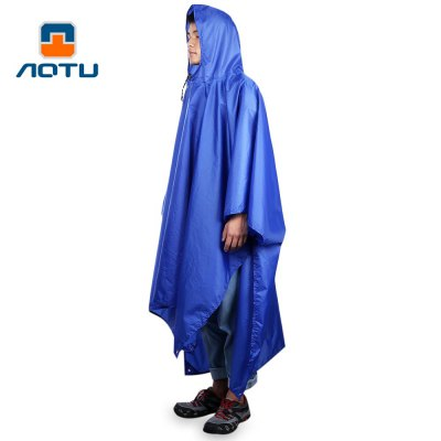 AOTU Durable Rain Cover Poncho Cape Mat