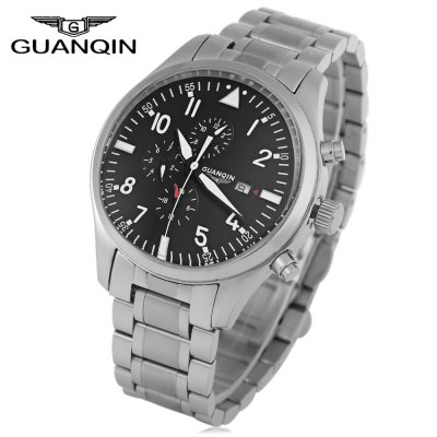 GUANQIN GJ16012 Men Automatic Mechanical Watch
