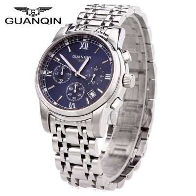 GUANQIN GS19018 Men Quartz Watch