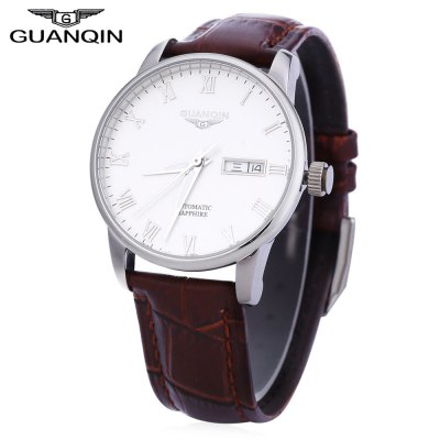 GUANQIN GJ16025 Men Auto Mechanical Watch