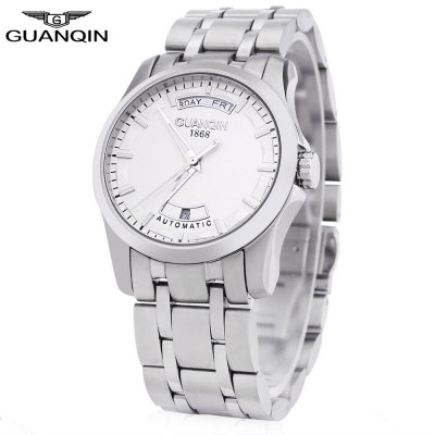 GUANQIN GJ16027 Men Auto Mechanical Watch