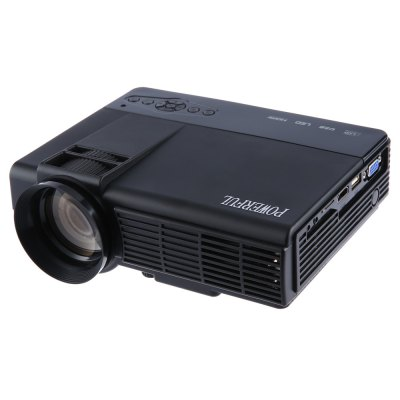 POWERFUL Q5 Mini 1000 Lumens 480 x 320 Pixels Multimedia HD LCD Projector