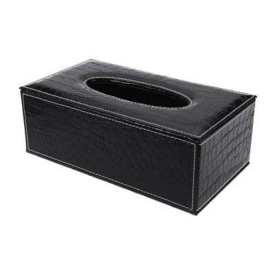PU Leather Crocodile Pattern Household Tissue Box HolderStorage Boxes &amp; Bins<br>PU Leather Crocodile Pattern Household Tissue Box Holder<br><br>Applicable Tissue: Removable Tissue<br>Application: Car, Room, Toilet<br>Laying Method: Seat Type<br>Material: PU Leather<br>Package Contents: 1 x Tissue Box<br>Package Size(L x W x H): 26.00 x 14.50 x 10.00 cm / 10.24 x 5.71 x 3.94 inches<br>Package weight: 0.509 kg<br>Product Size(L x W x H): 25.20 x 13.70 x 9.30 cm / 9.92 x 5.39 x 3.66 inches<br>Product weight: 0.484 kg<br>Style: Europe<br>Type: Tissue Case