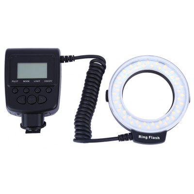RF550 Macro LED Ring Flash with LCD Display