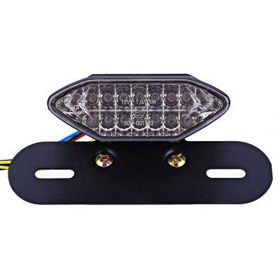 12V Motorcycle Retro Refit LED Tail Light Assembly