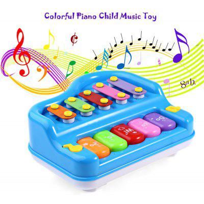 Colorful Piano Child Educational Music Toy