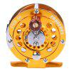 Proberos Full Metal Fly Fishing Reel Wheel - GOLDEN