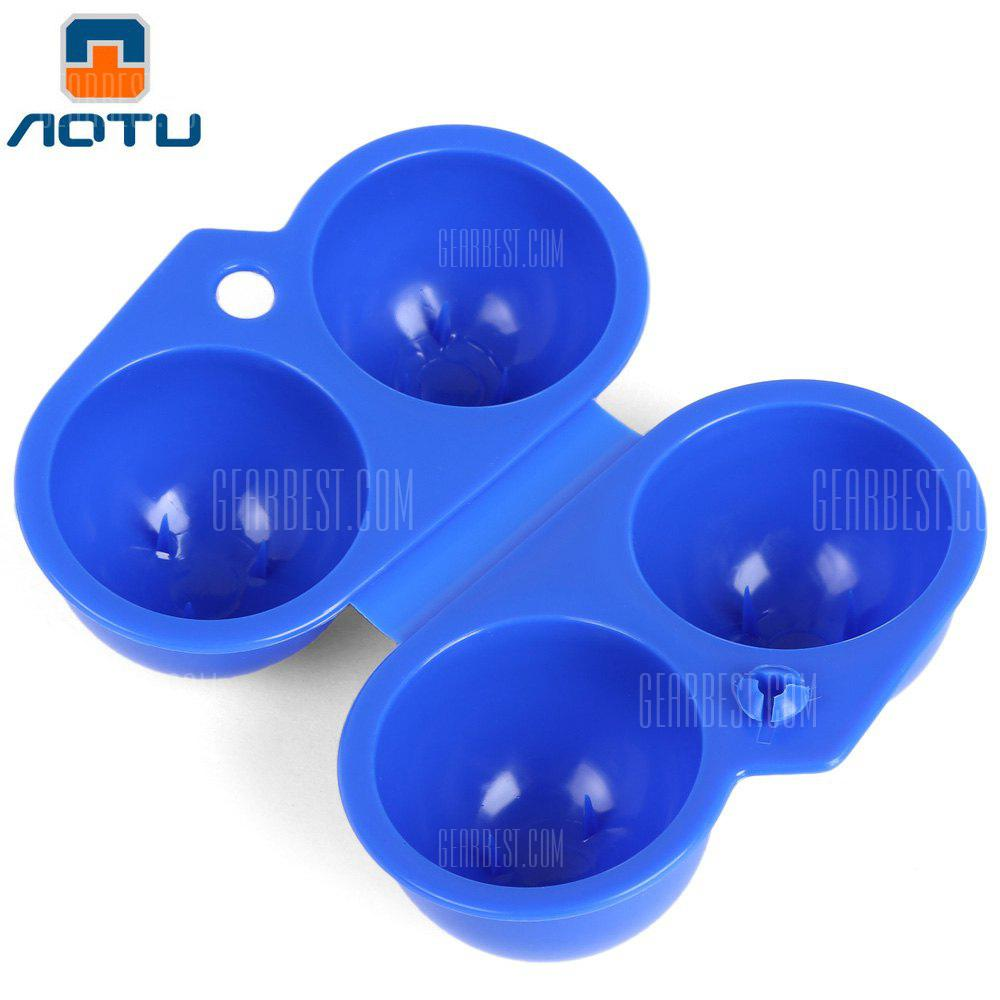 AOTU Lightweight Egg Box Case Container Carrier, BLUE, Outdoors & Sports, Camping / Hiking, Camp Kitchen