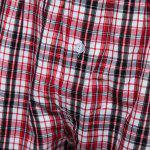 best Plaid Pure Cotton Elastic Ultrathin Shorts