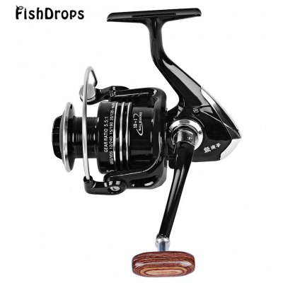 Fishdrops 13 BB Full Metallic Fly Fishing Emperor Reel
