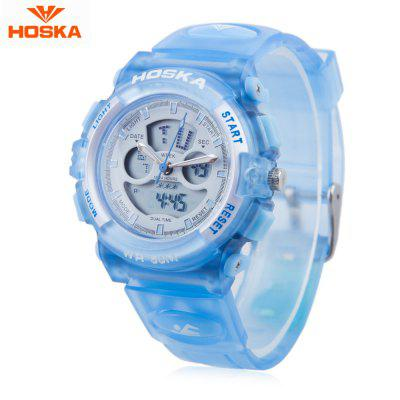 HOSKA HD005S Dual Movt Children Sport Quartz Watch