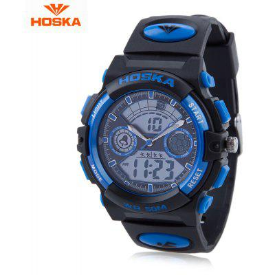 HOSKA HD006B Dual Movt Children Sport Quartz Watch