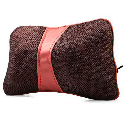 Multi Function Bone Shape Neck Back Massage Pillow for Car Home with US Plug