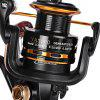YA2000 13BB Spinning Fishing Reel - BLACK