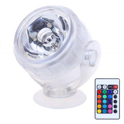 RGB Aquarium LED Spotlight with Remote Control