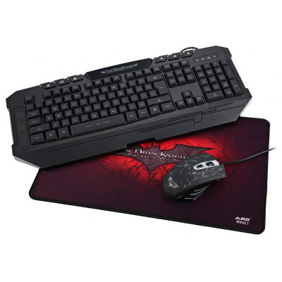 Ajazz Dark Knight Gaming Keyboard and Mouse Set