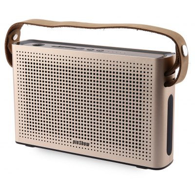 PINSHOW Goldentime Bluetooth 4.0 Wireless Speaker