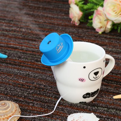 Mini Cowboy Hat USB Humidifier Mist Maker